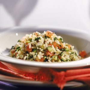 Bayway Catering | vegetable with risotto