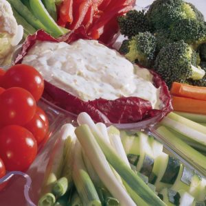 Bayway Catering crudite platter