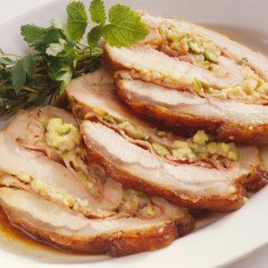 Bayway Catering | stuffed pork loin