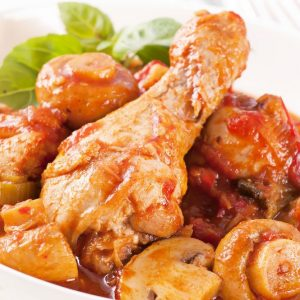 Bayway Catering | Chicken Cacciatore