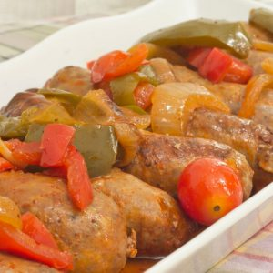 Bayway Catering Pork Sausage Peppers