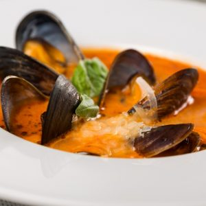 Bayway Catering Mussels Fra Diavolo