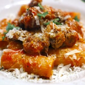 Bayway Catering Rigatoni Bolognese