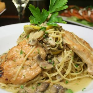 Bayway Catering | Chicken Marsala