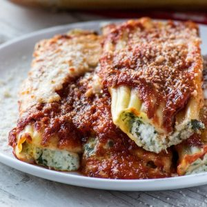 Bayway Catering | baked manicotti
