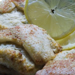 Bayway Catering stuffed flounder