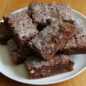 Bayway Catering | Fresh baked brownies