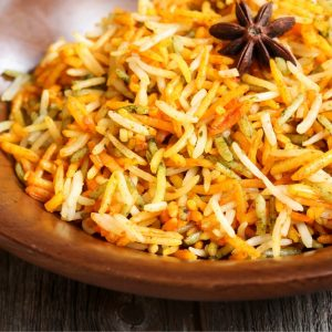Bayway Catering Rice Pilaf