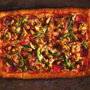 Bayway Catering Vegetable Pizza