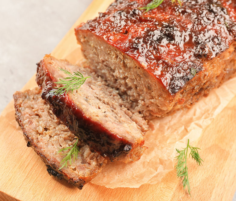 Bayway Catering   Homestyle Meatloaf