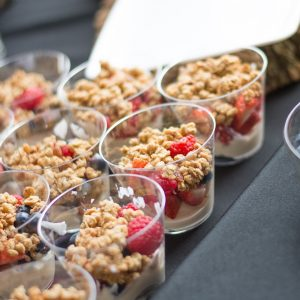 Bayway Catering parfait cups