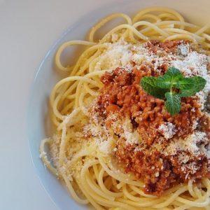 Bayway Catering pasta marinara