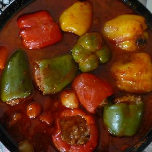 Bayway Catering Stuffed Peppers