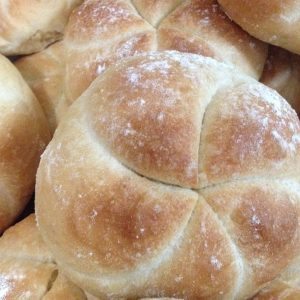kaiser rolls; priced per item