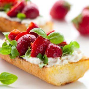 Bayway Catering | Fruit Bruschetta