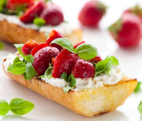Bayway Catering | Fruit Bruschetta