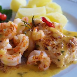 Bayway Catering | Shrimp Scampi