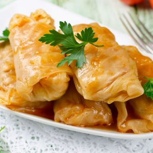 Bayway Catering | Stuffed Cabbage