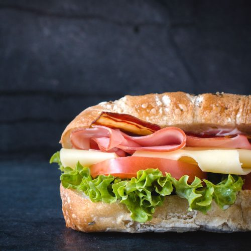 Sandwiches | Bayway Catering | 3 foot sub