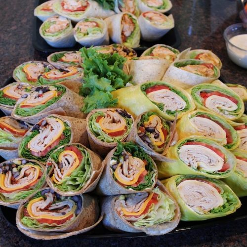 Bayway Catering | Sandwiches | Wrap Platter