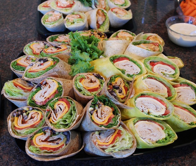 Bayway Catering   Sandwiches   Wrap Platter