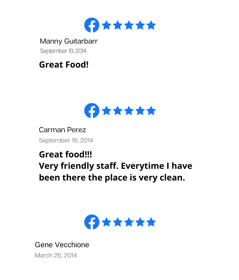 Online Reviews | Bayway Catering of Linden, NJ