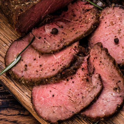 Roast Sliced Top Round   Bayway Catering   Linden, NJ