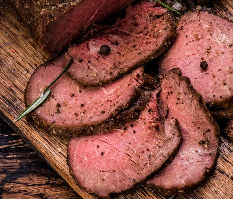 Roast Sliced Top Round | Bayway Catering | Linden, NJ