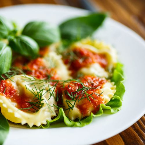 Bayway Catering | Lobster ravioli