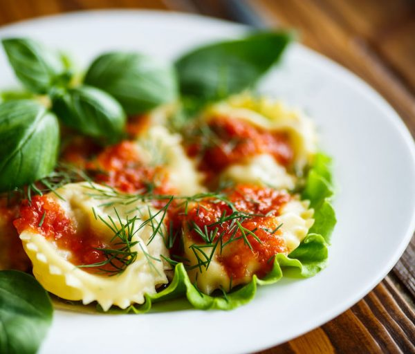 Bayway Catering | Lobster ravioli