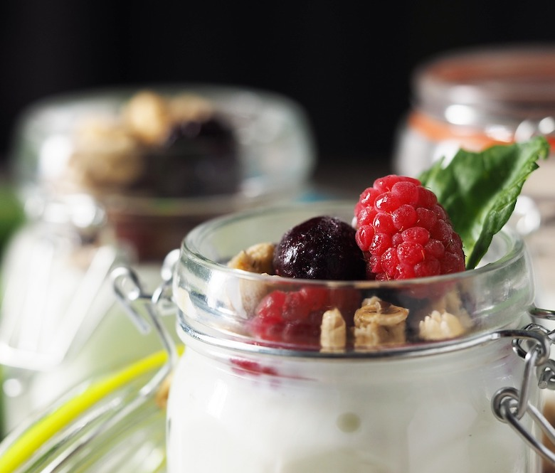 yogurt cups   Bayway catering